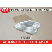 Wholesale 700ml Volume Aluminium Foil Products , Aluminium Foil Food Containers 4C2318 from china suppliers