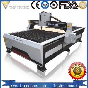 China cutting machine plasma TP1325-125A with Hypertherm plasma power supplier. THREECNC on sale