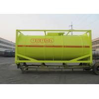 Wholesale International Carbon Steel 20 Foot Tank Container For Oil Transport Or Storage from china suppliers