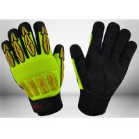 Wholesale Sandy Nitrile Coated Mechanic Work Gloves Good Grip Capacity For Construction from china suppliers