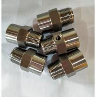 Quality Custom pressure gauge connectors, connectors, All kind of cnc machining parts,OE for sale