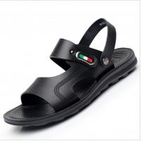 4253eb86c361b8 Custom Handmade Leather Sandals For Men OEM   ODM Brown Leather Flat Sandals.  Contact Supplier