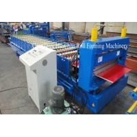Galvanized Metal Roofing Sheet Roll Forming Machine Automatic Standing Seam