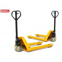 Wholesale TUV 5 Ton Hydraulic Hand Pallet Truck For Wharf , 54mm Fork Thickness from china suppliers