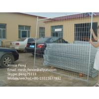 Wholesale Heavy duty 5mm*2100*2400mm welded mesh temporary fence factory price from china suppliers
