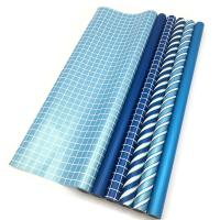 Wholesale Double Side Gift Wrapping Paper Roll Size 70 X 500 Cm Various Color Available from china suppliers