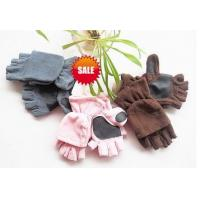 Wholesale fishing fingerless fleece gloves with lap from china suppliers