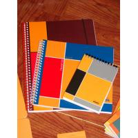 Wholesale spiral notebook with colored paper from china suppliers