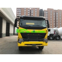 Wholesale HC16 Sinotruk 10M3 Mixer Tank Truck With Italy Pump And Motor from china suppliers