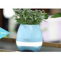 China Bluetooth Speaker with LED BT Intelligent Smart Touch Music Flowerpot Plant Piano Playing K3 Wireless Singing Flowerpot wholesale