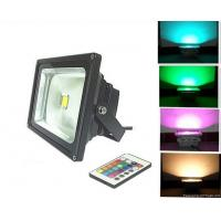 China 30W waterproof IP65 RGB LED flood light with IR remote control CE ROHS approved wholesale