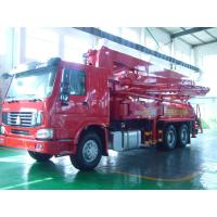 Wholesale 125M3 / H 21m Concrete Pump Truck With With Big Bearing Capacity And Small Swing from china suppliers