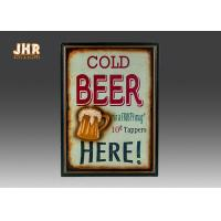 Wholesale Beer Wall Plaques Home Decorations Decorative Wall Art Signs MDF Pub Wall Decor from china suppliers