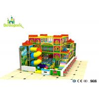 Wholesale Kindergarden Kids Indoor Playground With Rotary Slide from china suppliers