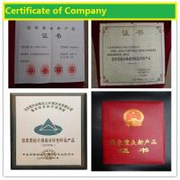 Shandong Chuangxin Building Materials Complete Equipments Co., Ltd Certifications