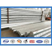 Wholesale 25FT - 45FT 15KV Octagonal Hot Dip Galvanized Steel Pole , Electric Power Pole from china suppliers