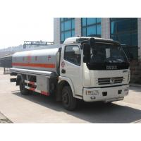 Wholesale Dongfeng 4*2 6000 liters oil tank fuel tanker trucks for sale from china suppliers
