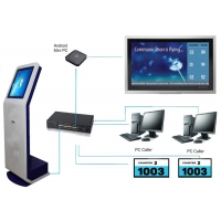 Wholesale 1 Year Warranty 50HZ 60HZ IR Touch Panel Hospital Queuing System from china suppliers