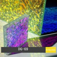 Quality Dichroic Shattered Glass for sale