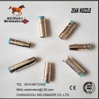 Wholesale Binzel type 25AK nozzle copper for mig torch from china suppliers