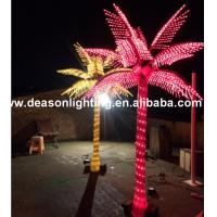 Wholesale outdoor palm tree lights from china suppliers