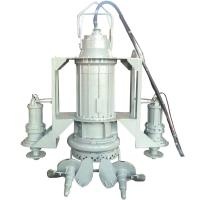 Wholesale High Chrome electric submersible sand dredge slurry pump with agitator from china suppliers