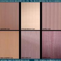 Natural Fancy Plywood Red Color