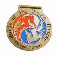 Wholesale Medal with Dragon Tattoo, Customized Sizes/Shapes Accepted, OEM Orders Welcomed from china suppliers