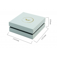 Buy cheap PMS Pen 200gsm CMYK color Christmas Gift Boxes With Ribbon from wholesalers
