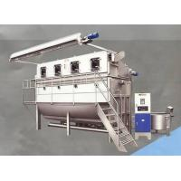 Stainless Steel Overflow Textile Fabric Dyeing Machine For Bleaching and Dye