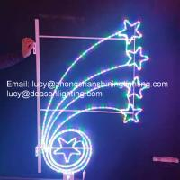 Wholesale christmas decoration pole lights from china suppliers