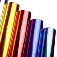 Wholesale Multi Colors Hot Stamping Foil Rolls for Plastics Glass Metallic Products from china suppliers