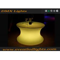 China IP54 Water - Proof Recharge Led Outdoor Furniture , Led Table 1 Year Warranty wholesale