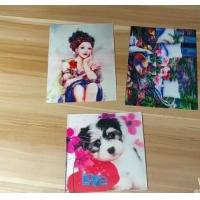 Wholesale OEM 3D printing factory provide  india 3d lenticular card for sale with strong 3d depth lenticular effect from china suppliers