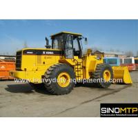 Wheeled Front End Loader 4M³ Bucket , 175kN Breakout Force Payloader Machine