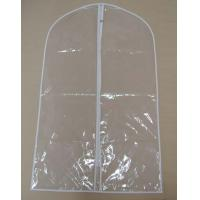 Wholesale 70D 1.0 Thickness PVC breathable Garment Cover Bag For travel 2 Handle from china suppliers