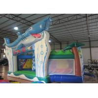 Wholesale Outdoor Games Toddler Bouncy Castle , Small Indoor Bounce House 9.5 X 6 X 5m from china suppliers