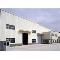 Quality Precision steel cladding warehouse Newly designed with big span for sale