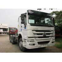 Quality White Heavy Duty Dump Truck 6X4 Sinotruck HOWO Tractor Head Trailer for sale