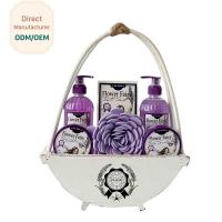 Wholesale Travel Home Spa Gift Set 24.5*5.5*15 Personal Bath Cleaning OEM Service from china suppliers