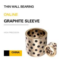 Wholesale Thin Wall Copper Bearing With Graphite Self Lube Bronze Components For Press Dies from china suppliers