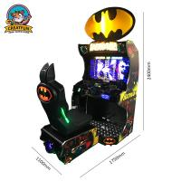 Quality Batman Car Coin Operated Video Games , Arcade Car Machine Large Display for sale