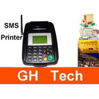 Wholesale Hand Held GPRS GSM SMS Printer For Receipt Printer 128*64 LCD Display from china suppliers