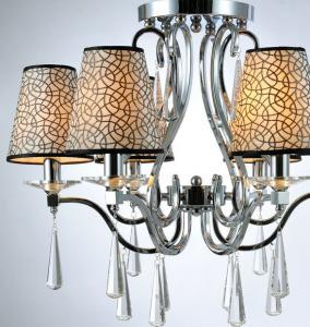 China Simple fashion european style cloth lamp shade led ceiling lights on sale