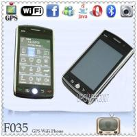 Wholesale GPS F035 Unlocked 4 Band WiFi Java TV Cell Phone from china suppliers