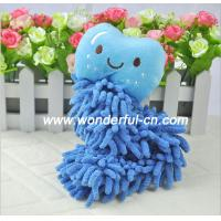 Quality Chenille fast drying hanging microfiber hand towels wholesale for sale