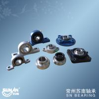 Quality Chrome Steel Gcr15 Ball Bearing Unit With Set Screws Locking Or Eccentric Locking Collar for sale