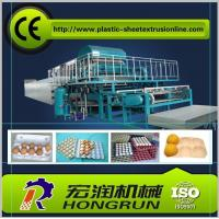 China Recycled Paper Egg Tray Machine , 2000pcs/h Automatic Egg Tray Making Machine on sale