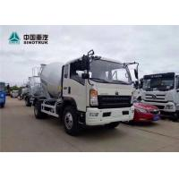 Wholesale Howo 4x2 4CBM Mini Concrete Mixer Truck with White Color is Ready in Factory from china suppliers