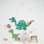 Wholesale DIY Art Mural Sticker/ Art Mural Deco/ wall sticker-Super Dinosaur(home, window, decorative sticker) from china suppliers